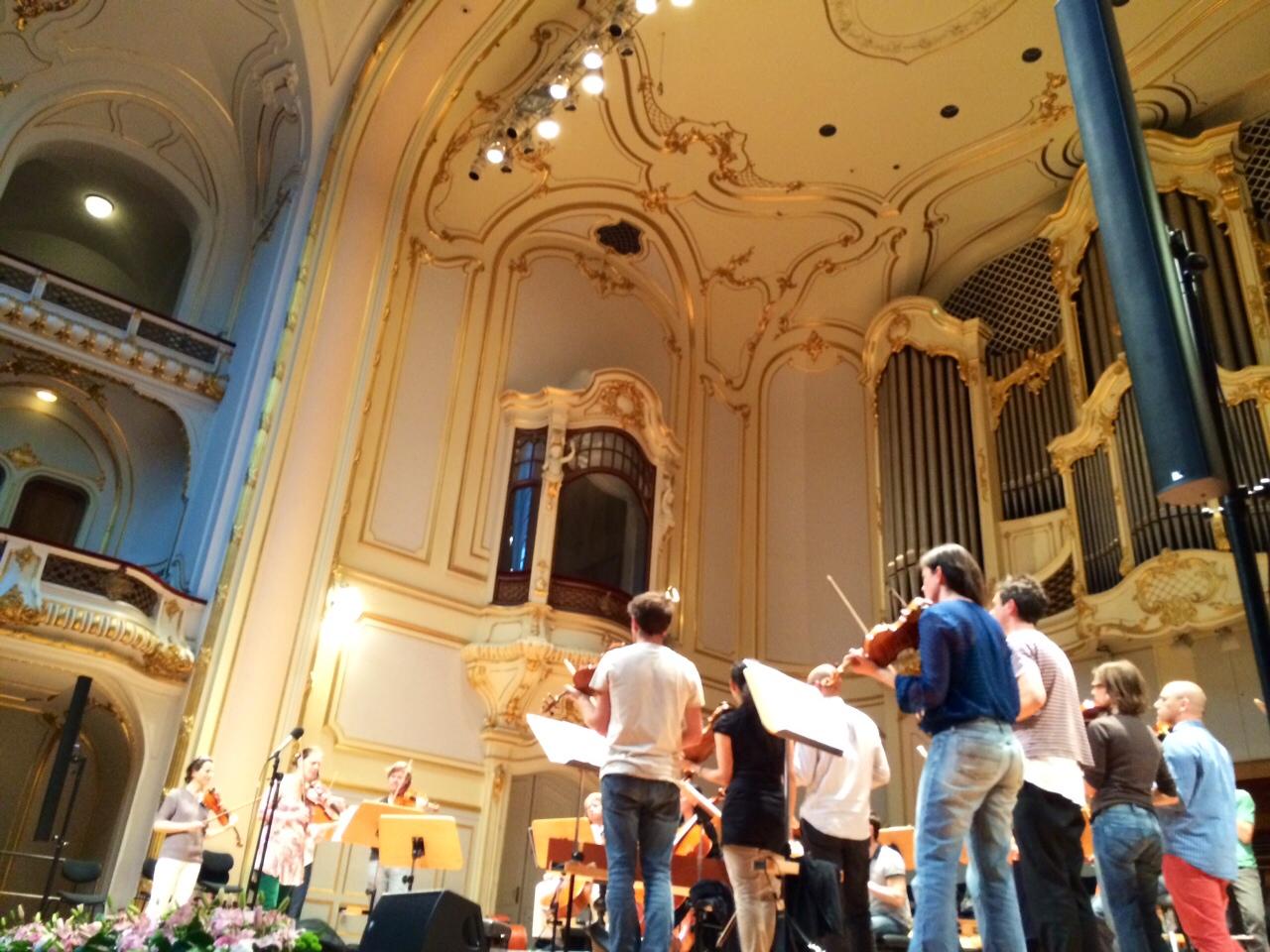 Fohhn Linienstrahler und das Ensemble Resonanz